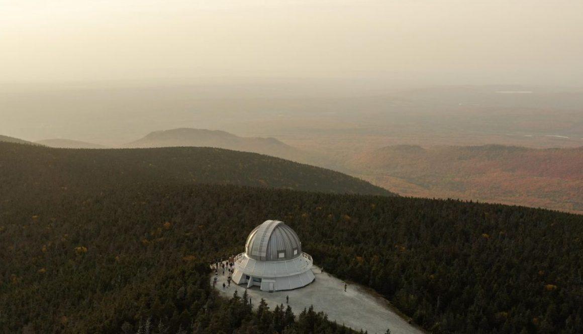 photo de couverture mont megantic