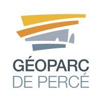 logo couleur du geoparc de percé