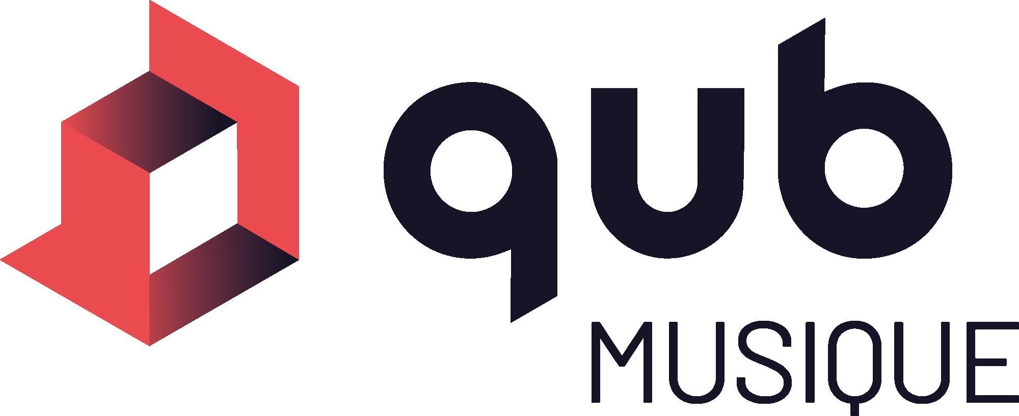 logo de la plateforme de musique Qub musique